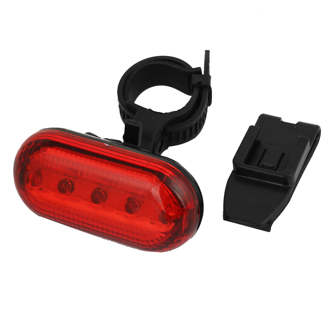 Bicycle MTB 3 Modes 5 LED Red Emergency Safety Warning Rear Tail Light Lamp
