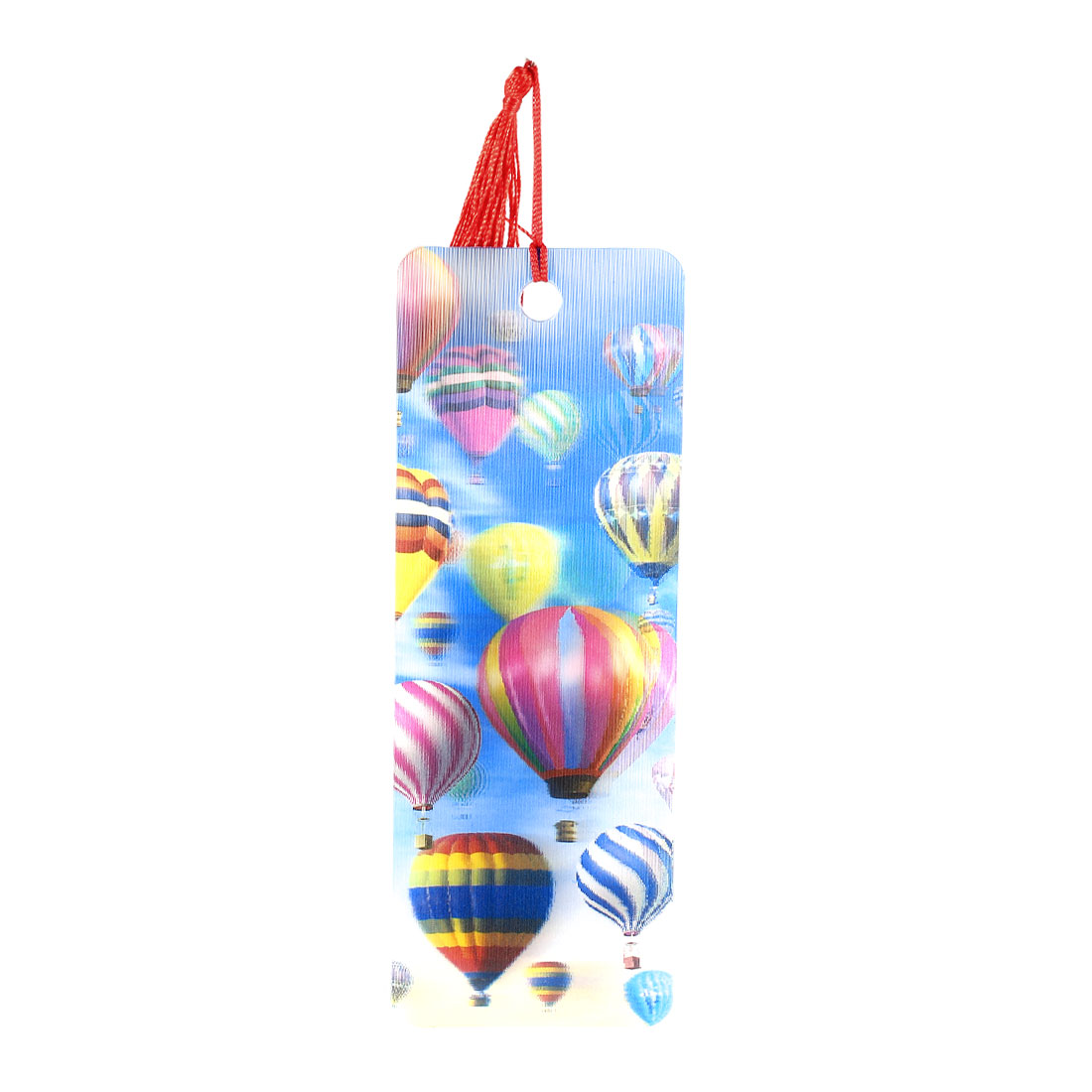 Portable Featuring 3D Pattern Design Hot Air Balloon Bookmark Multicolor