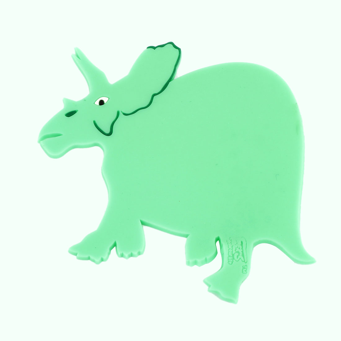 Home Table Cartoon Dinosaur Shape Silicone Cup Mats Pad Green