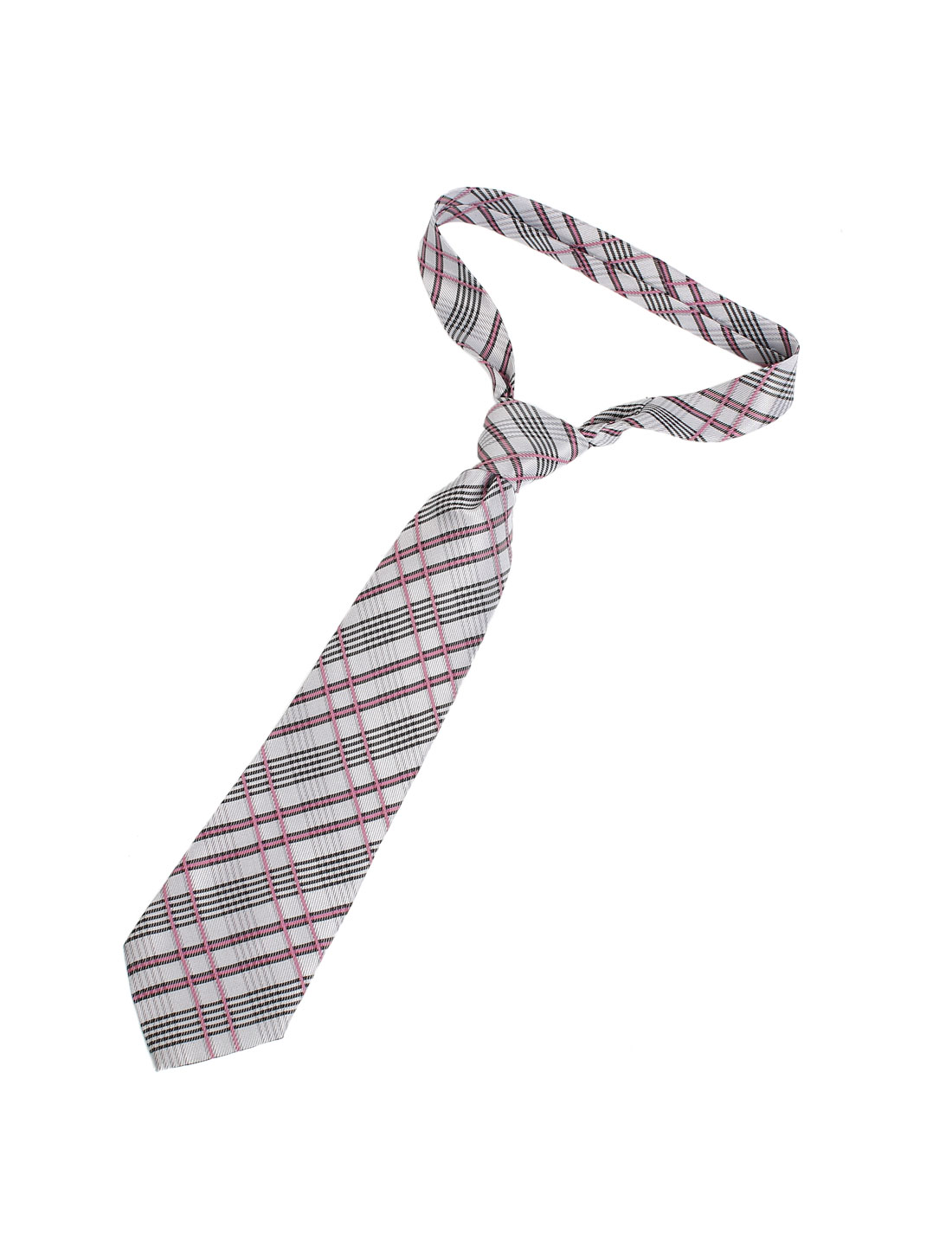 10cm Width Polyester Plaids Pattern Self Tie Neckwear Necktie Assorted Color