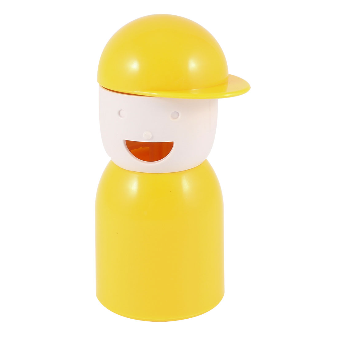 Kitchen Table Decor Picky Boy Shape Toothpick Holder Organizer Yellow