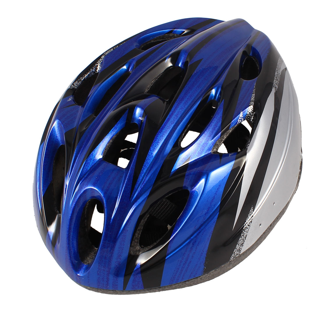 Outdoor Sports Black Gray Blue Hollow Out Helmet for Bike Cycling