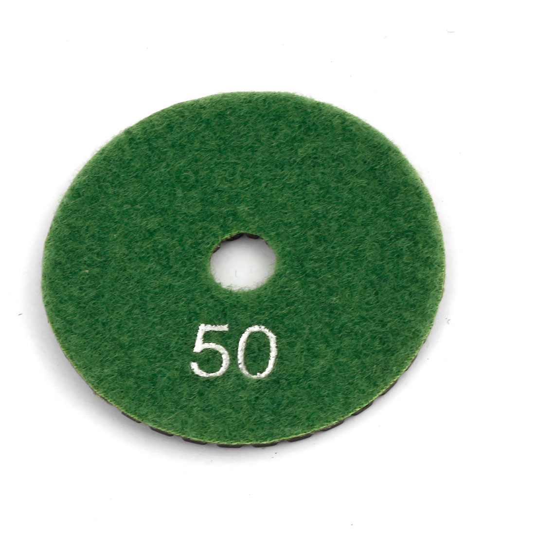"Black Green Grit 50 3"" Dia Tile Stone Polisher Grinder Diamond Polishing Pad"