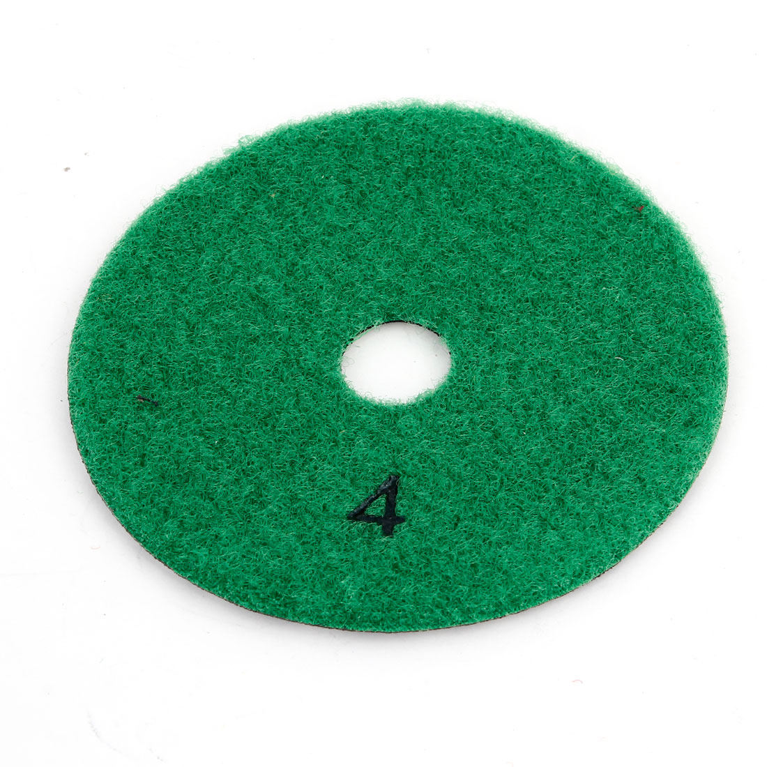 "Green Gray 3.9"" Granite Tile Concrete Stone Diamond Polishing Pad Disc Teal"