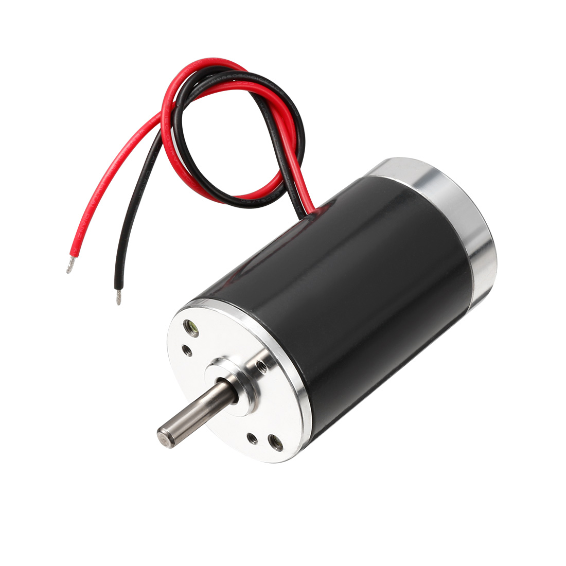 DC 12V 3000 RPM Speed 7W 5mm Dia Shaft Wired Connector Metal Electric Motor
