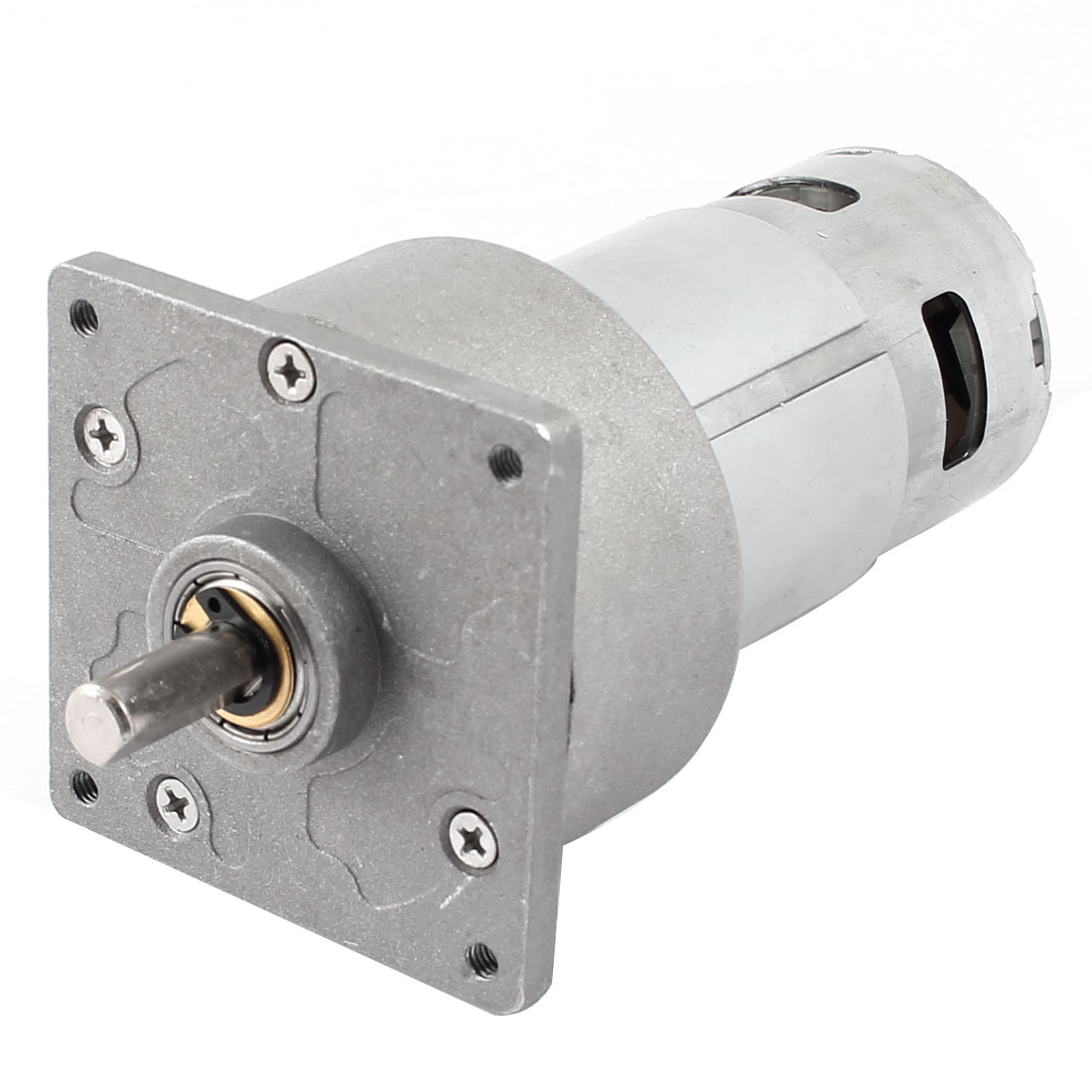 DC 24V 4600r/Min Flange Mounted Speed Reduce Magnetic Electric Geared Motor