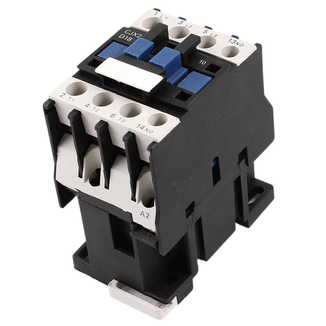 CJX2-1810 220V Coil 3 Poles 3P 35mm DIN Rail Mounting NO DIN Rail AC Contactor