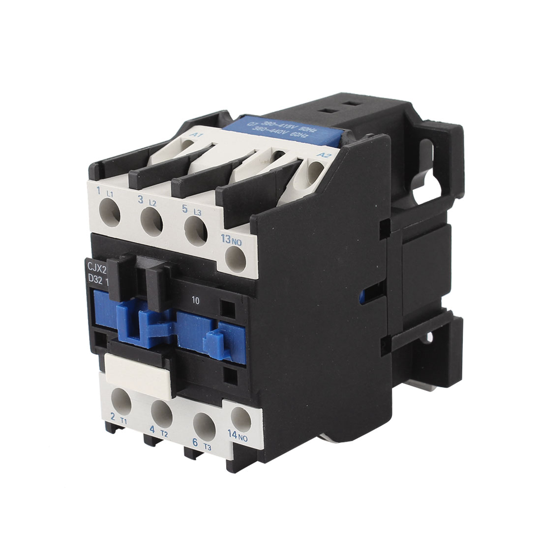 CJX2-3210 AC 380V Coil 35mm DIN Rail Mounting 3-Phase Electric Power Contactor