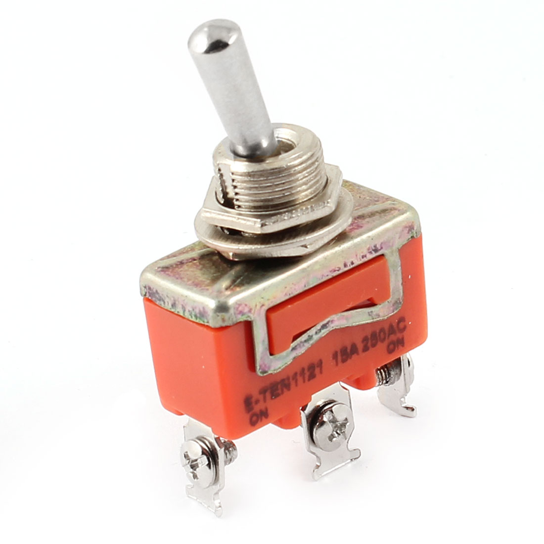 AC 250V 15A ON/ON 2 Position 3 Screw Terminals SPST Latching Toggle Switch