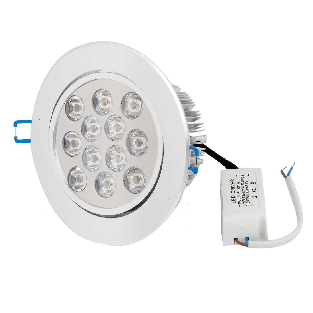 AC 194-264V 12W Warm White LED Spot Recessed Ceiling Down Light Lamp Bulb