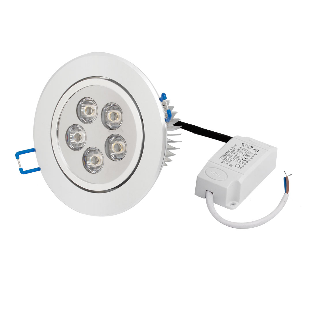 AC 194-264V 5W Warm White LED Spot Recessed Ceiling Down Light Lamp Bulb