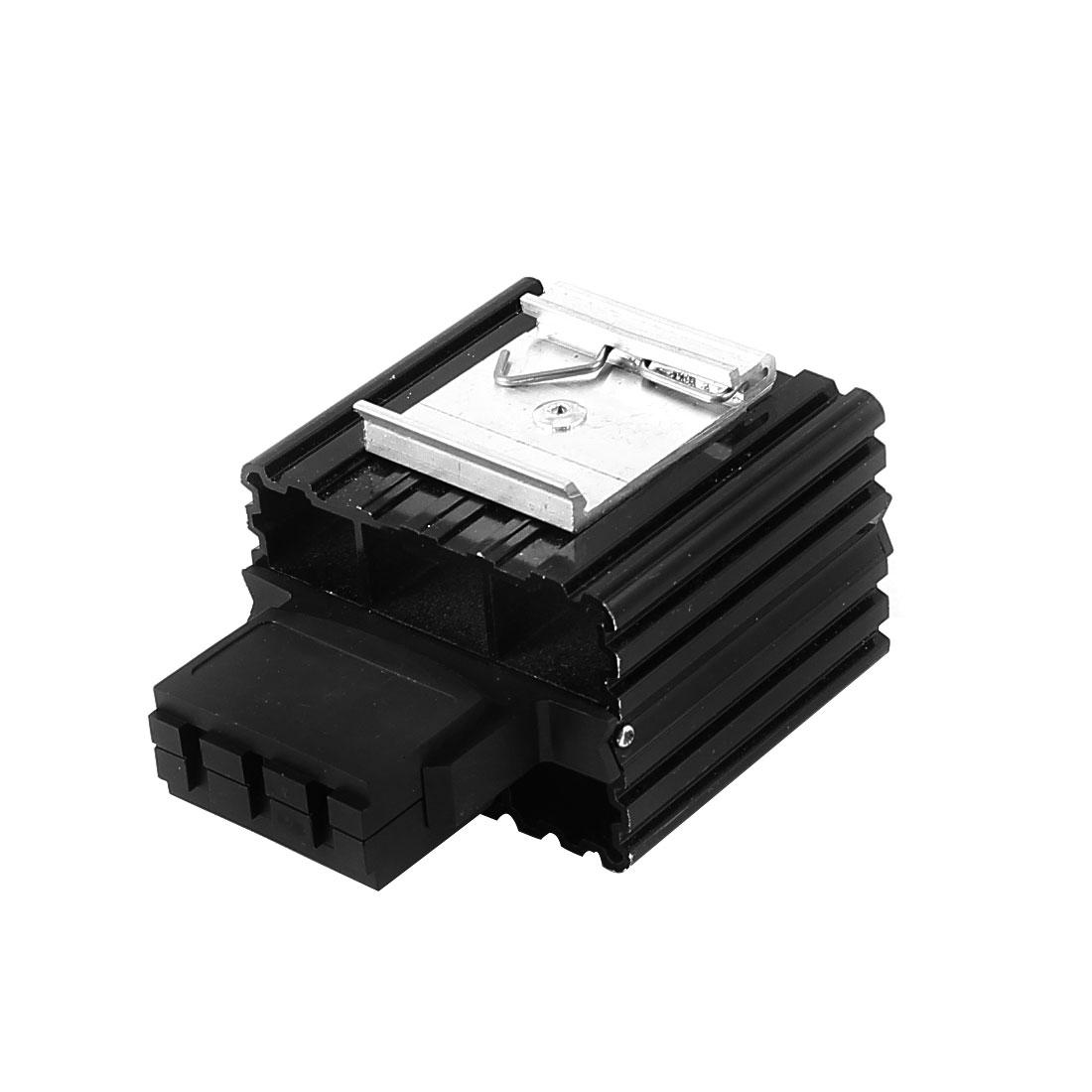 Black Heating Element Heater AC 230V 15W Power 70mmx65mmx47mm