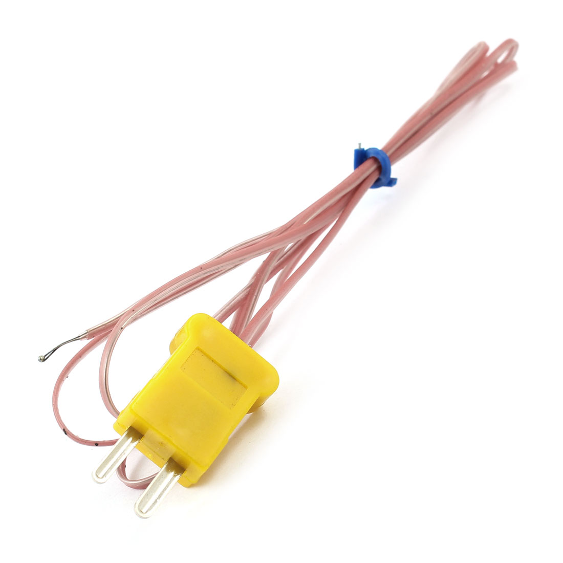 K Type Temperature Controller Wire Line Lead Measuring Thermocouple Probe 0-400C 95cm 3Ft Cable