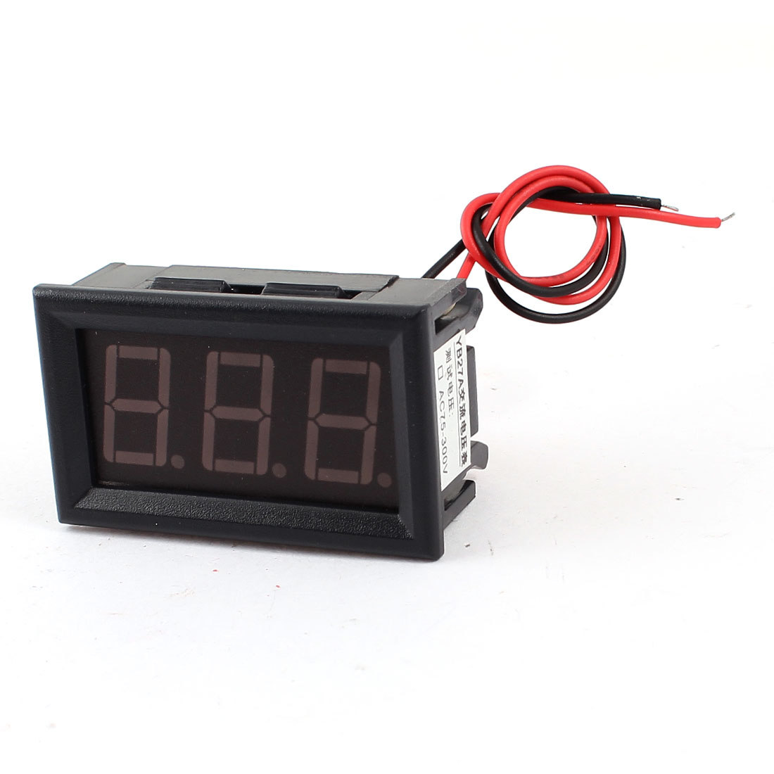 Blue LED Display Digital Voltage Measurement Voltmeter AC 75-500V