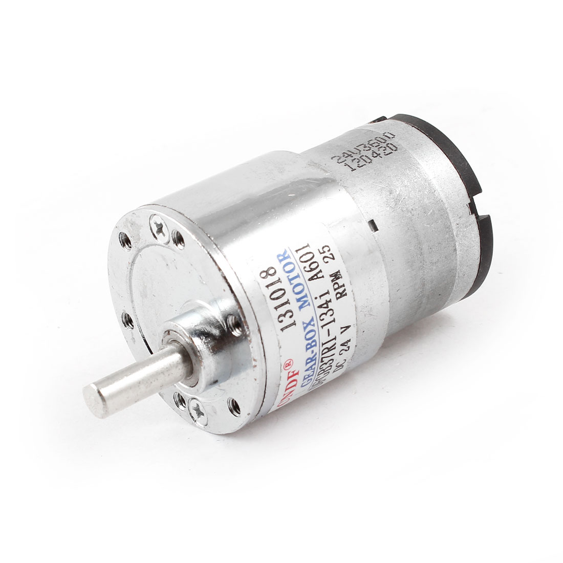 6mm Shaft 25RPM Output Speed 24V Reduce DC Magnetic Geared Motor