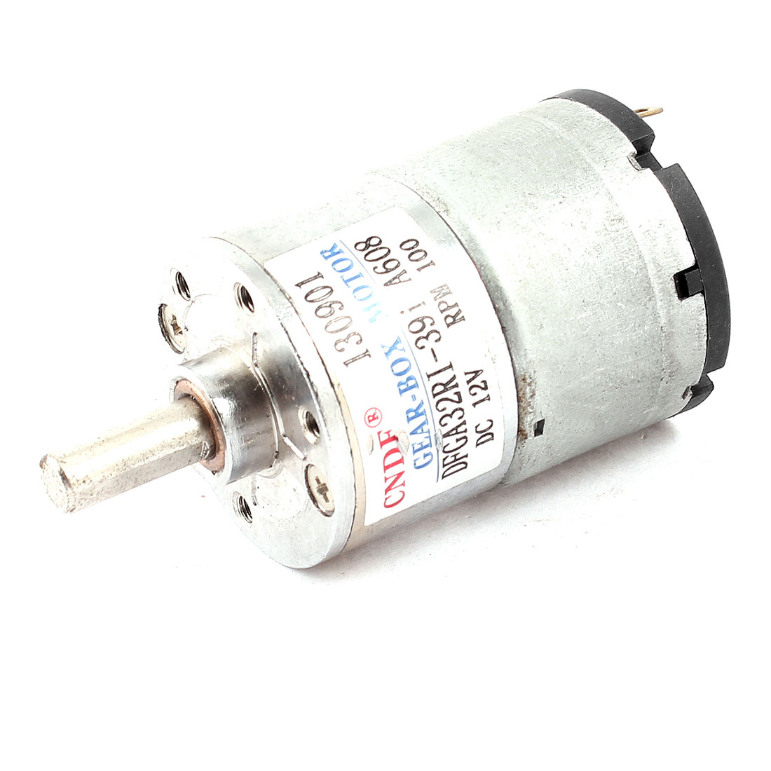 100RPM DC 12V Geared Box Electric Cylindrical Speed Reduce Motor