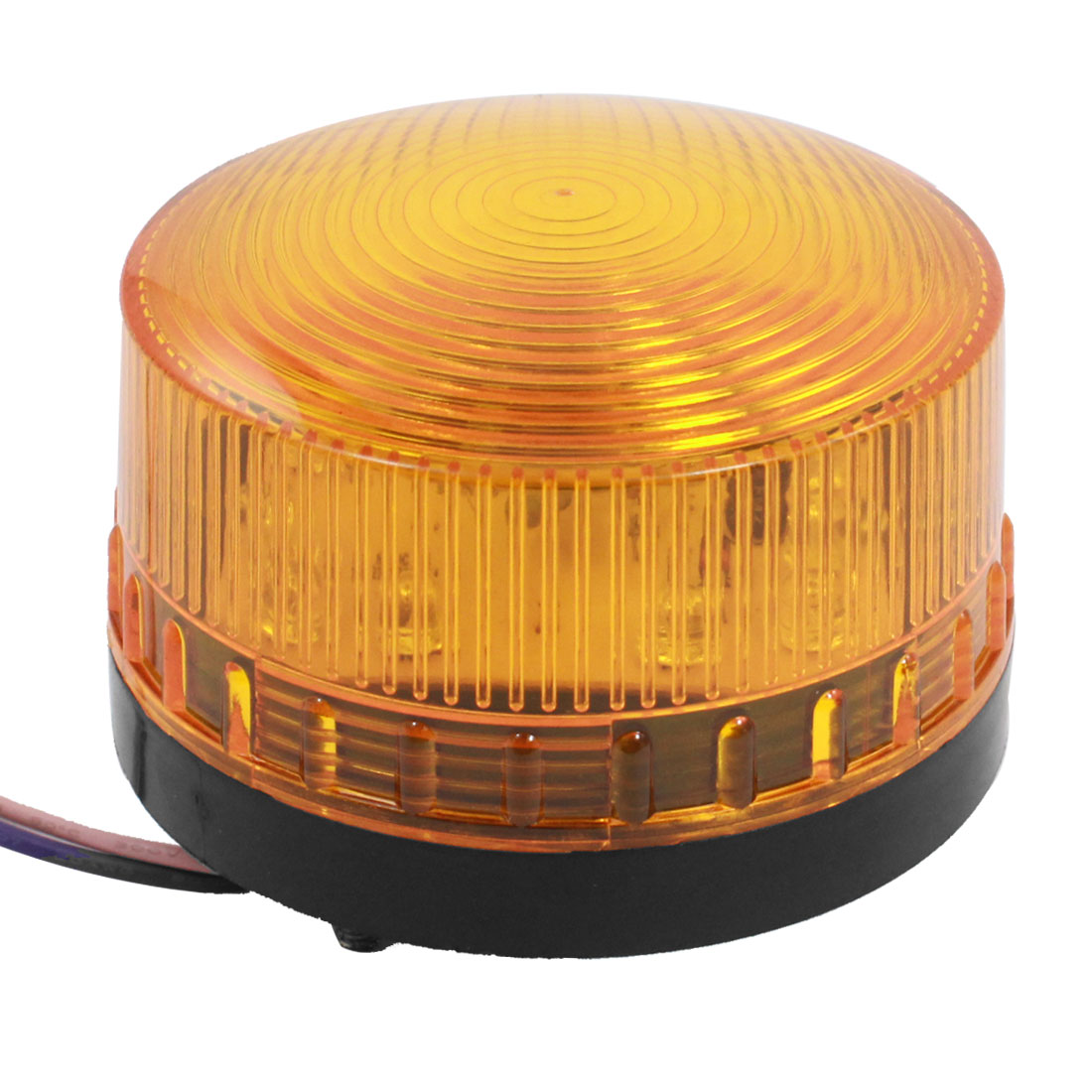 Yellow LED Flash Industrial Signal Tower Safety Stack Warning Light DC 12V