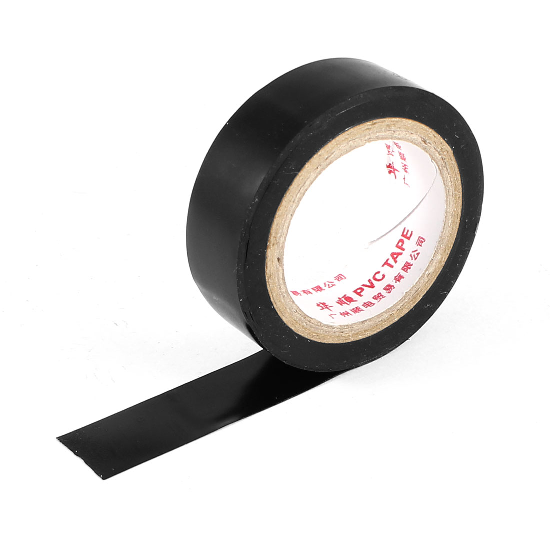 13Ft 0.18mm Thickness PVC Insulating Tape Black for Electric Wire