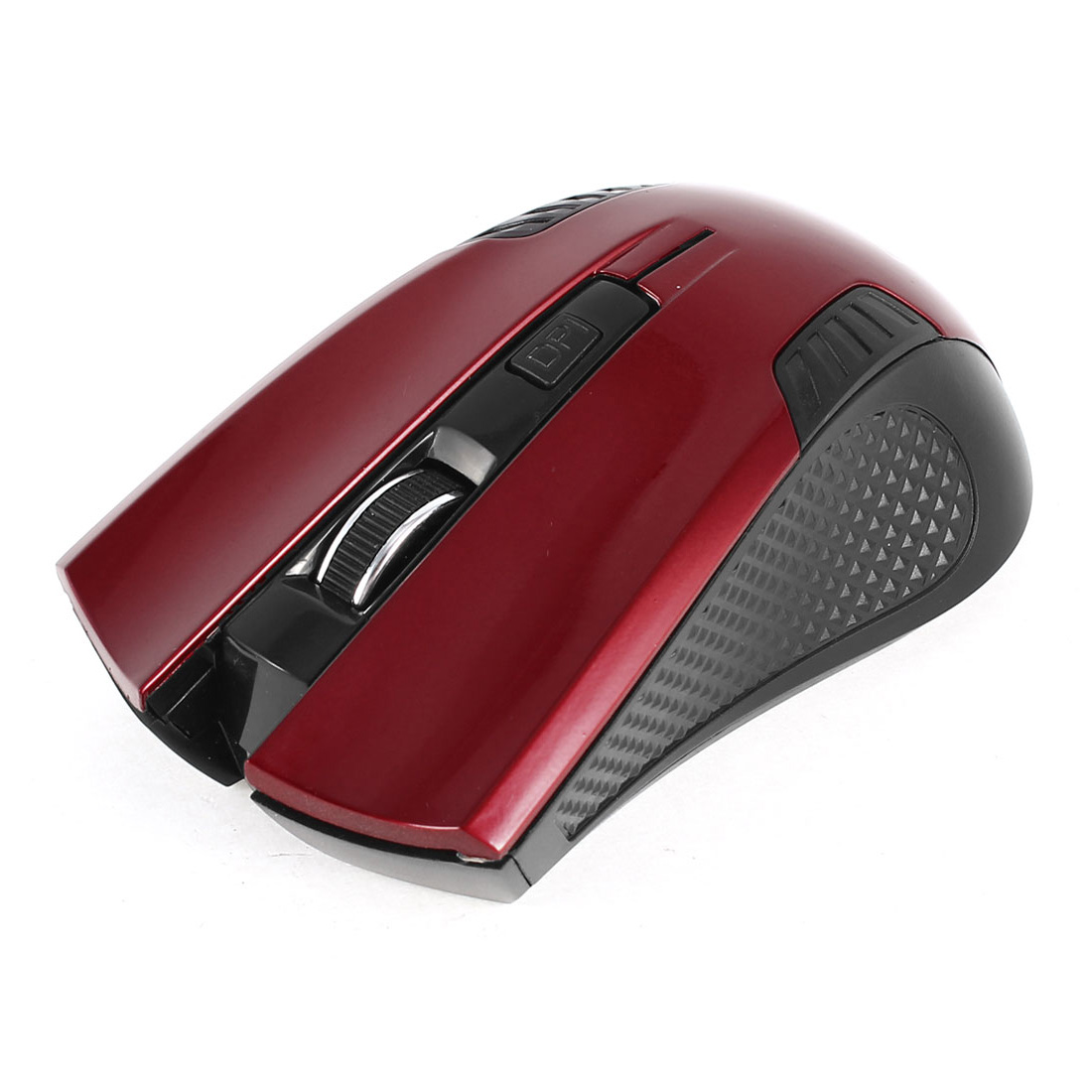 Red Black Rechargeable 1600DPI Wireless bluetooth Optical Mouse for PC Computer Laptop