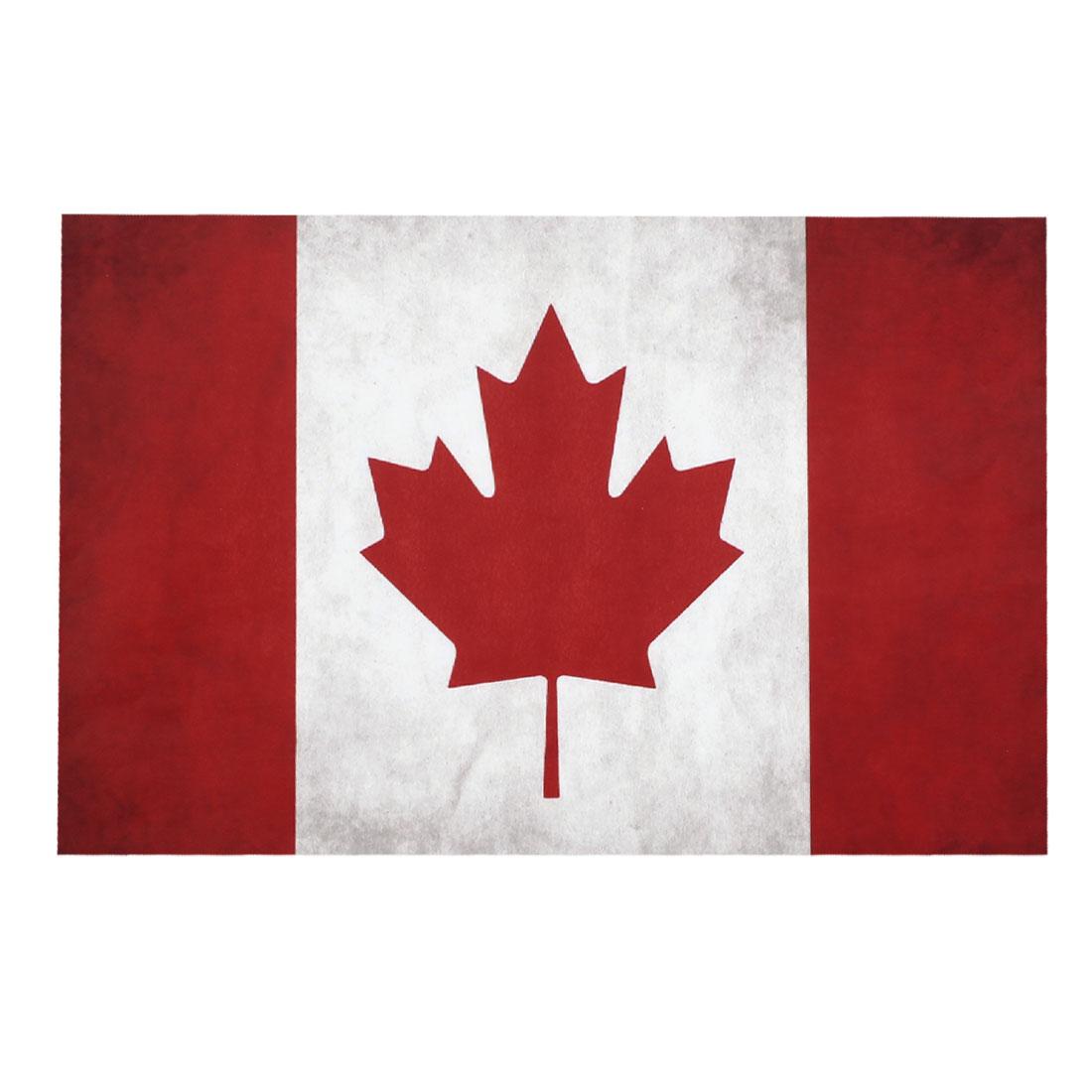 "Canada Nation Flag Pattern Vinyl 15.6"" Laptop Notebook Skin Decal Sticker 26x38cm"