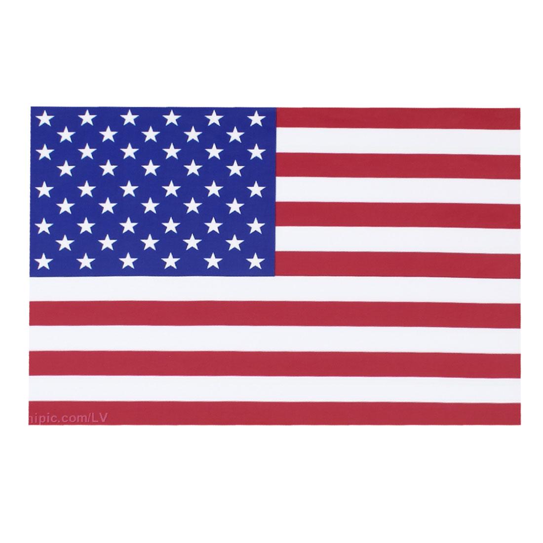 "Amercian US Flag Pattern Vinyl 15.6"" Laptop Notebook Skin Decal Sticker 26x38cm"
