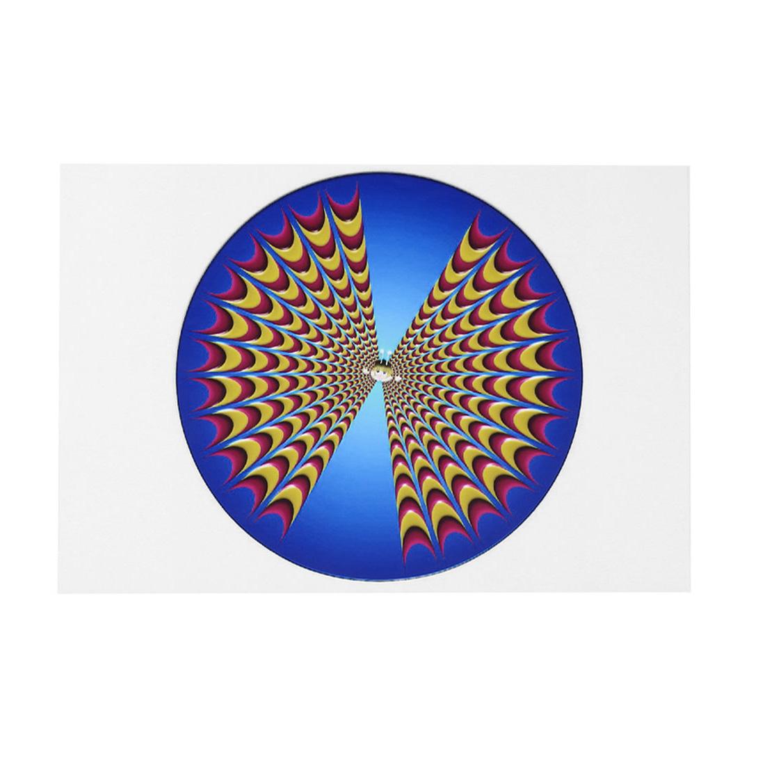 "Dynamic Pattern 15.6"" Laptop Notebook Decor Vinyl Skin Decal Sticker White Blue 26x38cm"