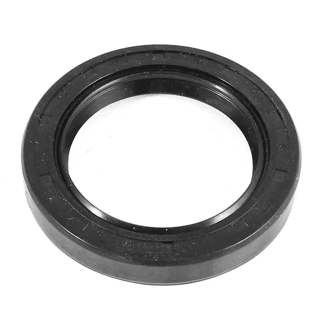 60mm x 42mm x 9mm Round Black Rubber Spring Skelecton Oil Seal Ring Sealing Gasket