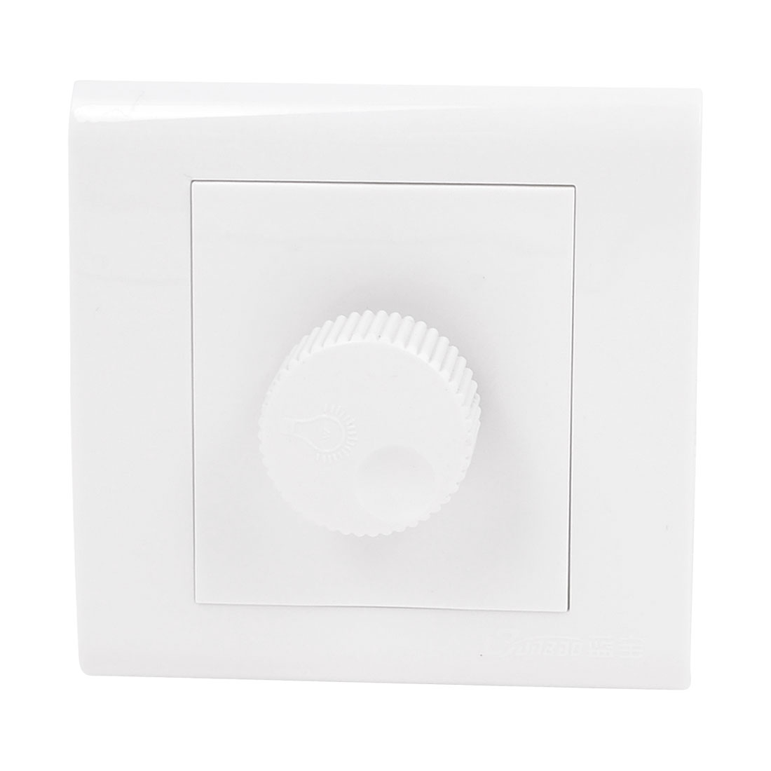 AC 250V 50-60HZ Lamp Light Control Switch Wall Plate White
