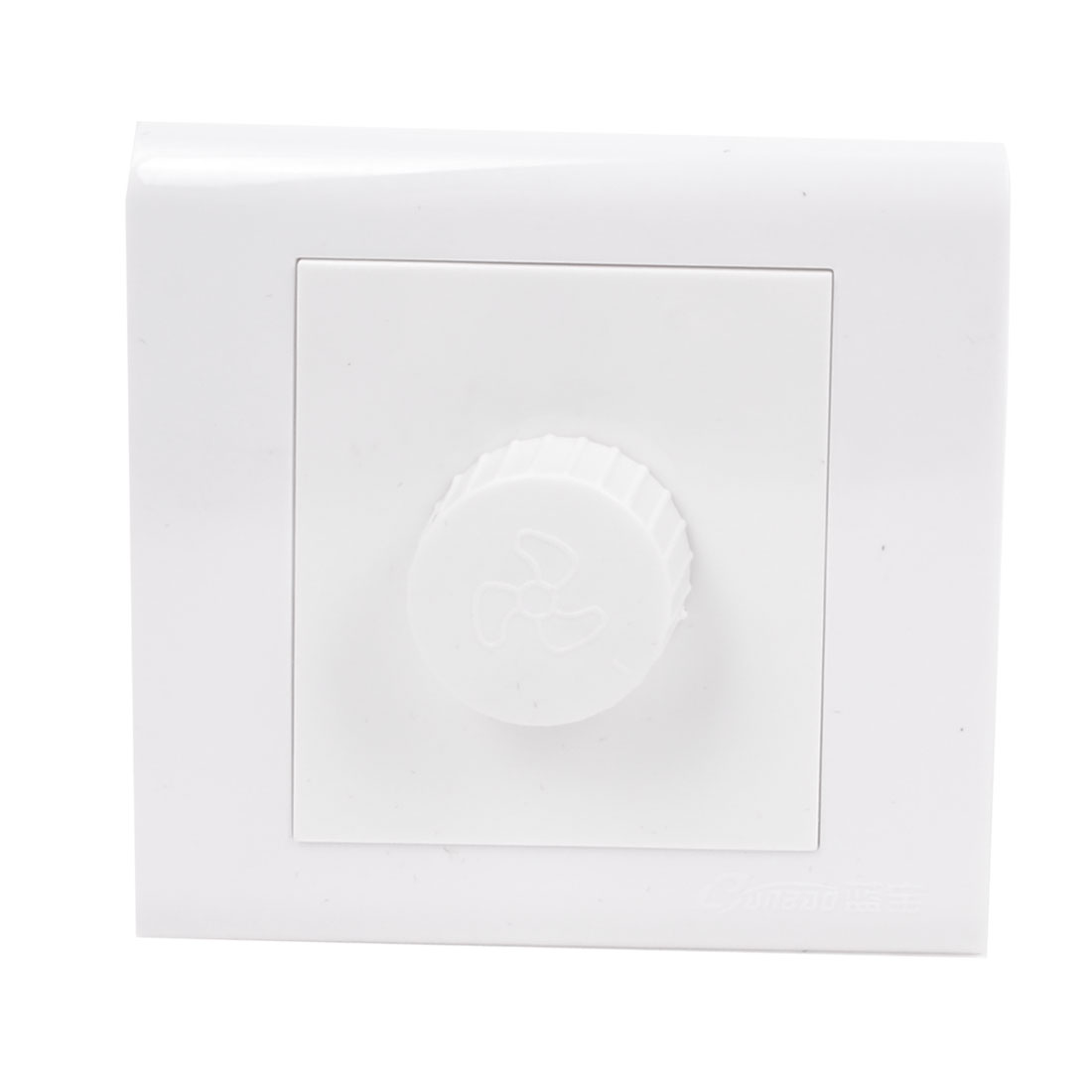 AC 250V 50~60HZ Rotatable Button Fan Speed Control Wall Panel Switch
