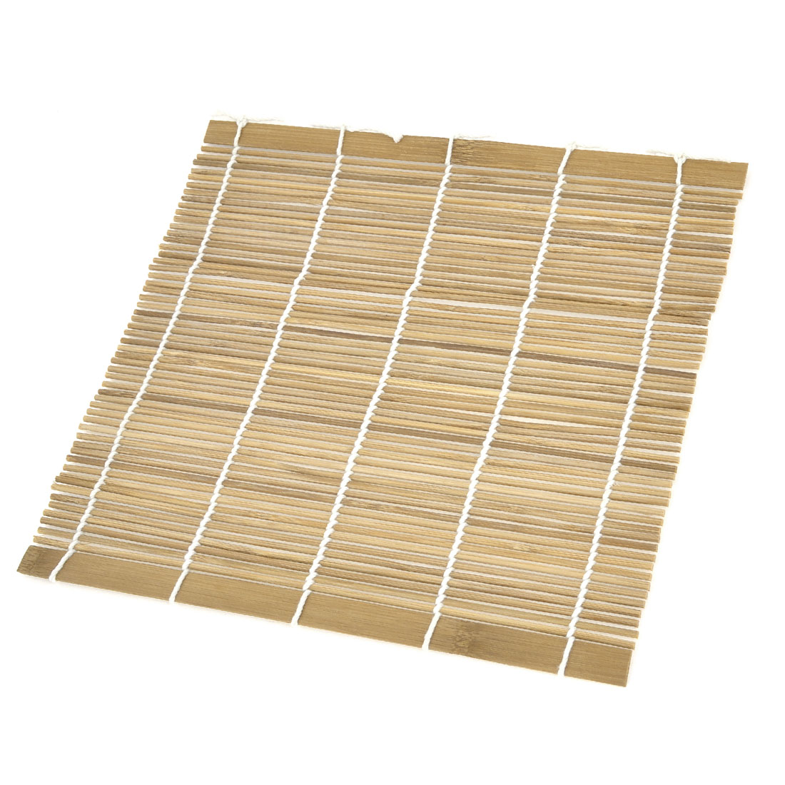 Home DIY Wood Color Bamboo Sushi Mat Roller Tool Hand Maker