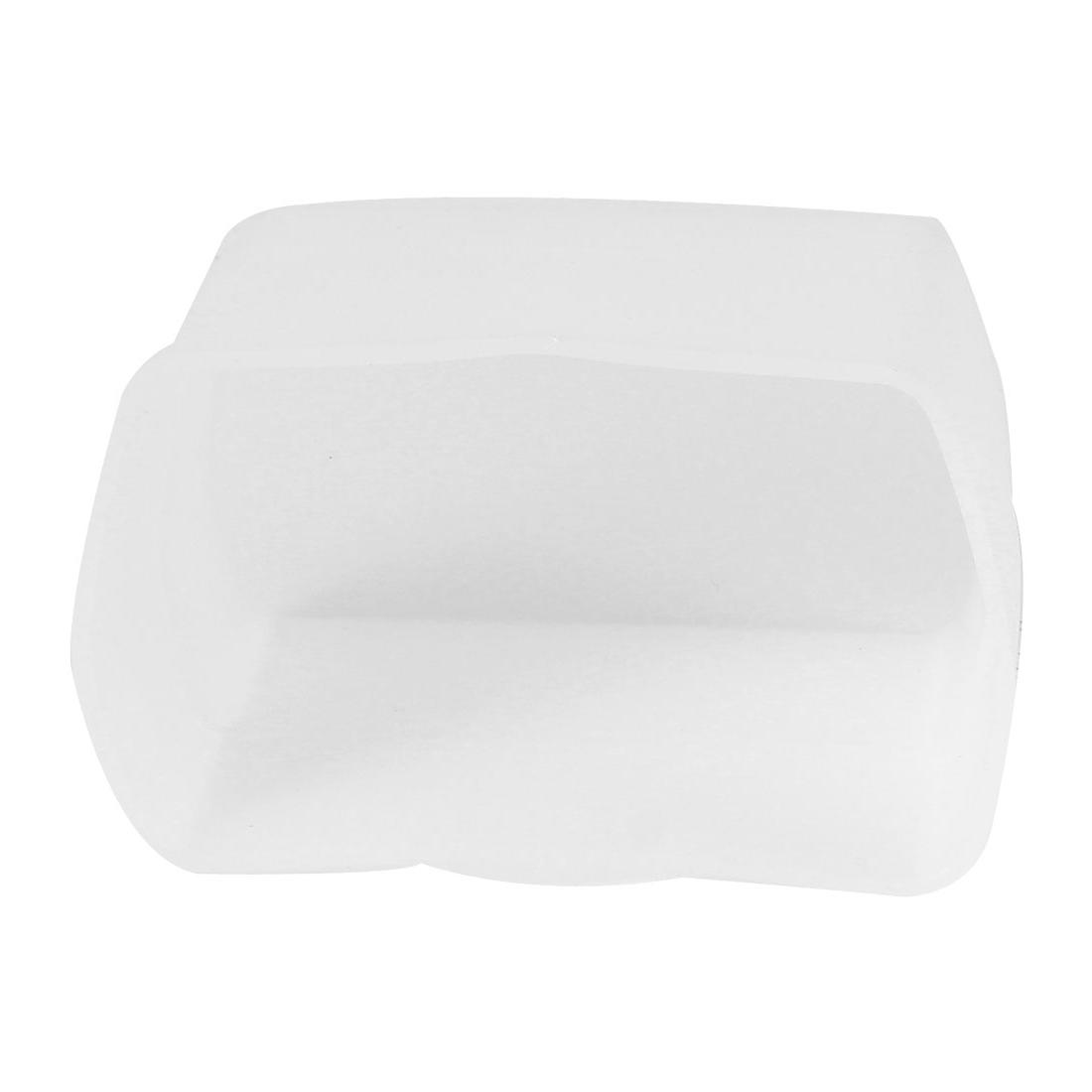 White Plastic Flash Light Diffuser Soft Box Softbox for Canon 430EX 430 EX II
