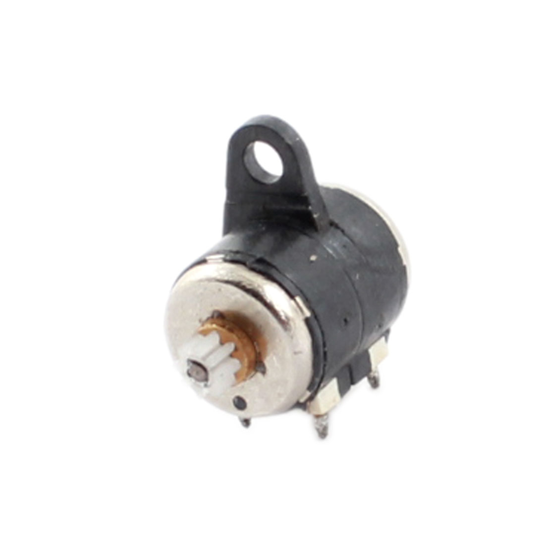 DC 3.7V 6mm Dia 2 Phase 4 Wire Micro Stepper Motor 32000RPM for Camera