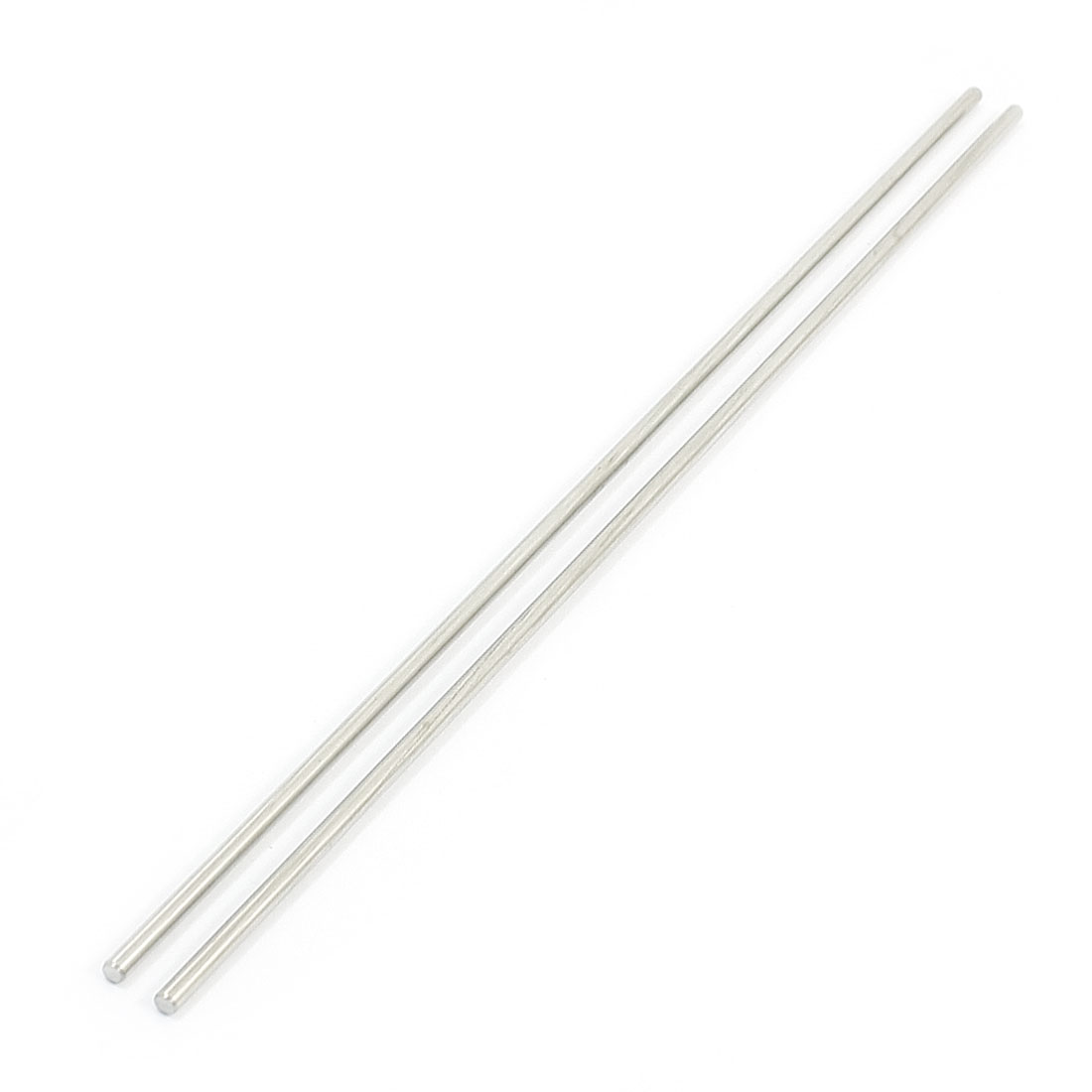 "2Pcs 2.5mm Diameter Stainless Steel Motion Axle Circular Round Rod Bar 7.5"" Long"