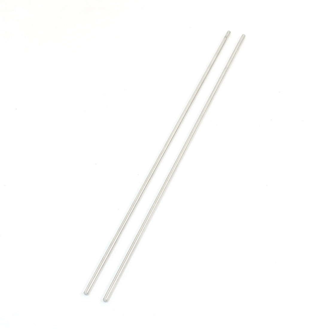 "2Pcs 2.5mm Diameter Stainless Steel Motion Axle Circular Round Rod Bar 7.9"" Long"