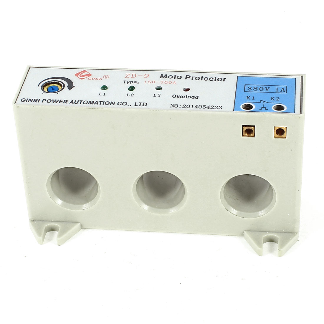 ZD-9/150-300A 3 Phase 150-300 Ampere Adjustable Current Breaker Motor Circuit Protector Non Power