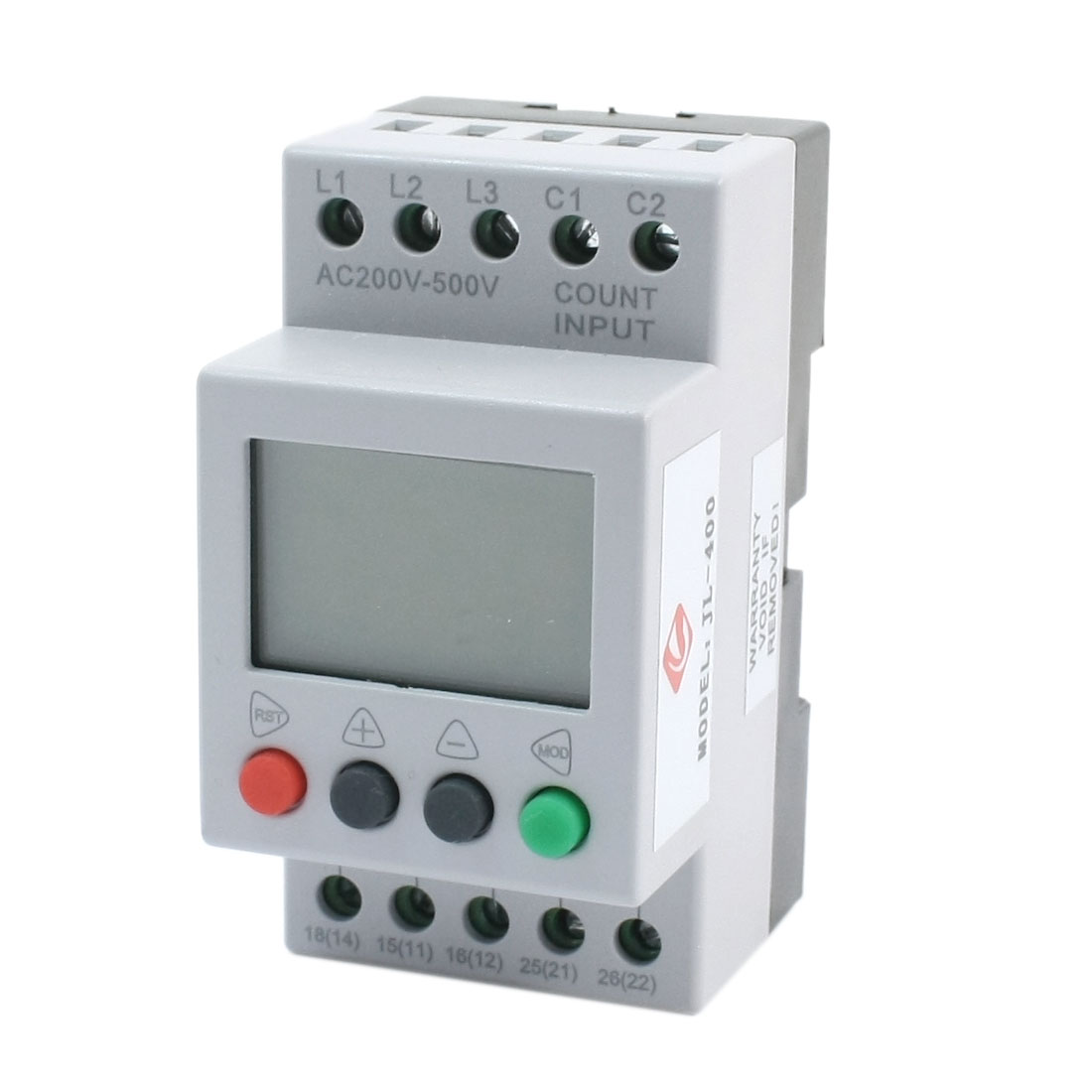 JL-400 Three-phase LCD Display Phase Failure Sequence Unbalance Over/Under Voltage Protective Relay