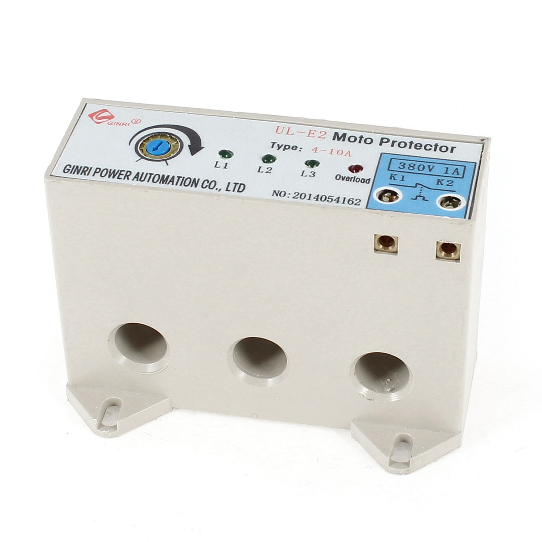 UL-E2/4-10A 3 Phase 4-10 Ampere Adjustable Current Breaker Motor Circuit Protector Non Power