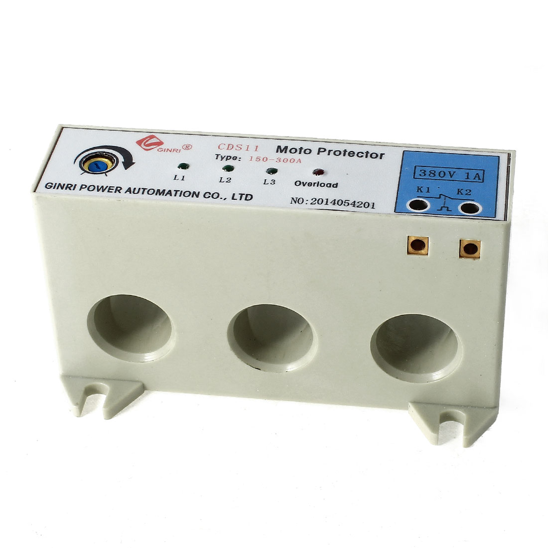 CDS-11/150-300A 3 Phase 150-300 Ampere Adjustable Current Breaker Motor Circuit Protector Non Power