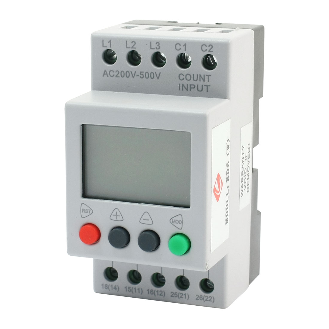 RD6 Three-phase LCD Display Phase Failure Sequence Unbalance Over/Under Voltage Protective Relay