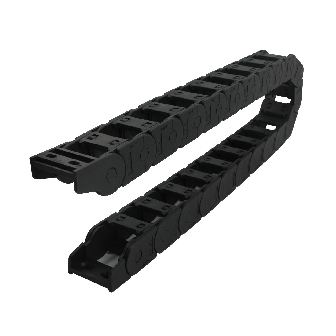 Plastic Towline Cable Carrier Drag Chain Connector 38mm x 25mm