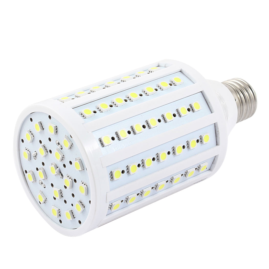 6000-6500K 20W Watt E27 Screw Base Pure White 102 SMD 5050 LED Light Bulb Lamp