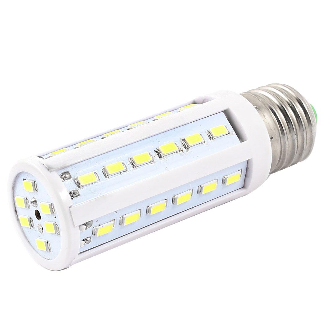 6000-6500K 10W Watt E27 Screw Base Pure White 42 SMD 5630 LED Light Bulb Lamp