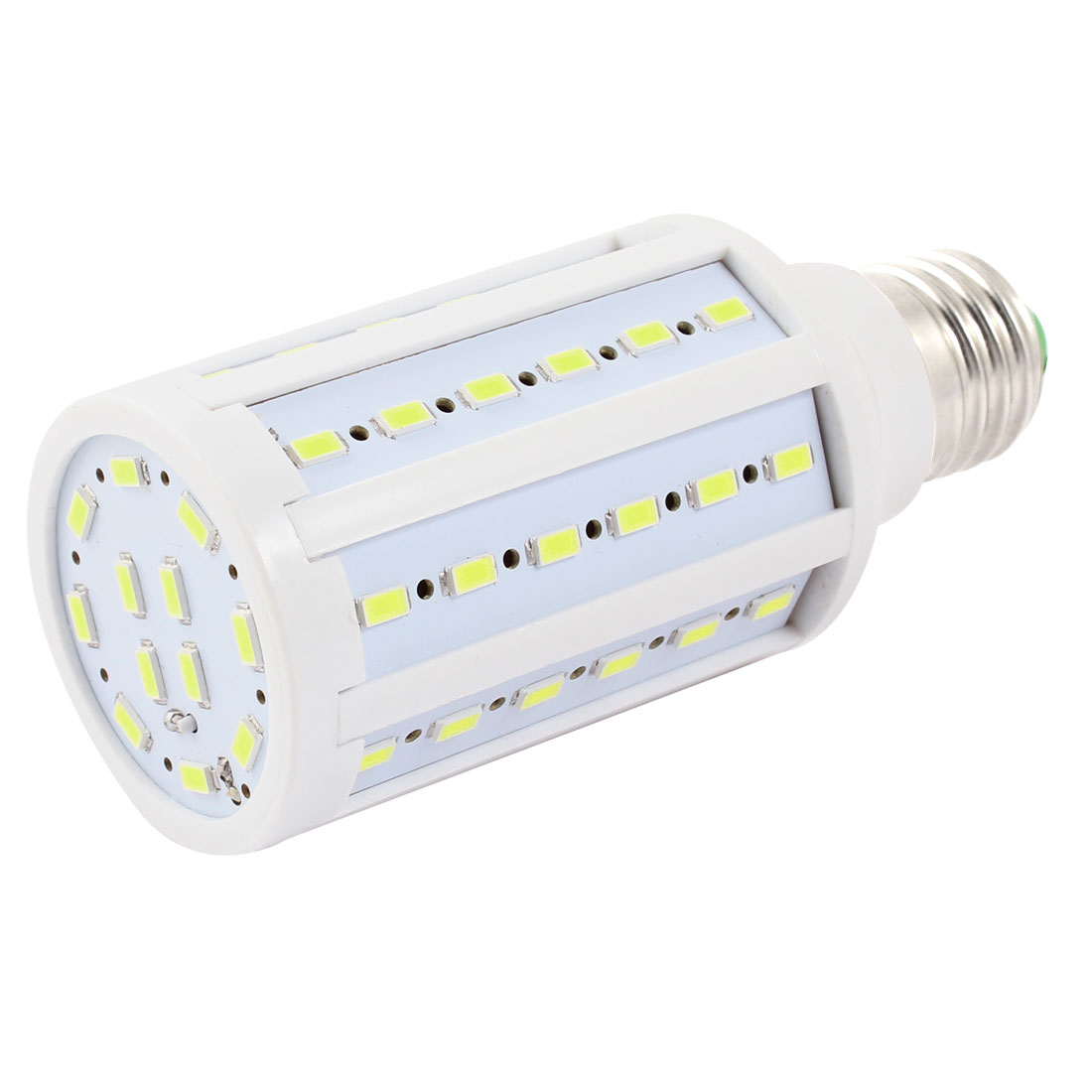 Energy Saving E27 Base Pure White 60 SMD 5630 LED Bulb Lamp 15W AC 110/220V