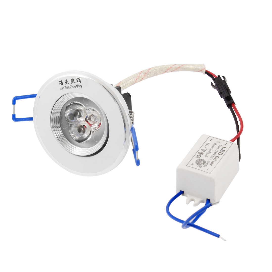 100-110LM 3W Warm White Ceiling Downlight Recessed Spot Lamp Bulb + LED Driver