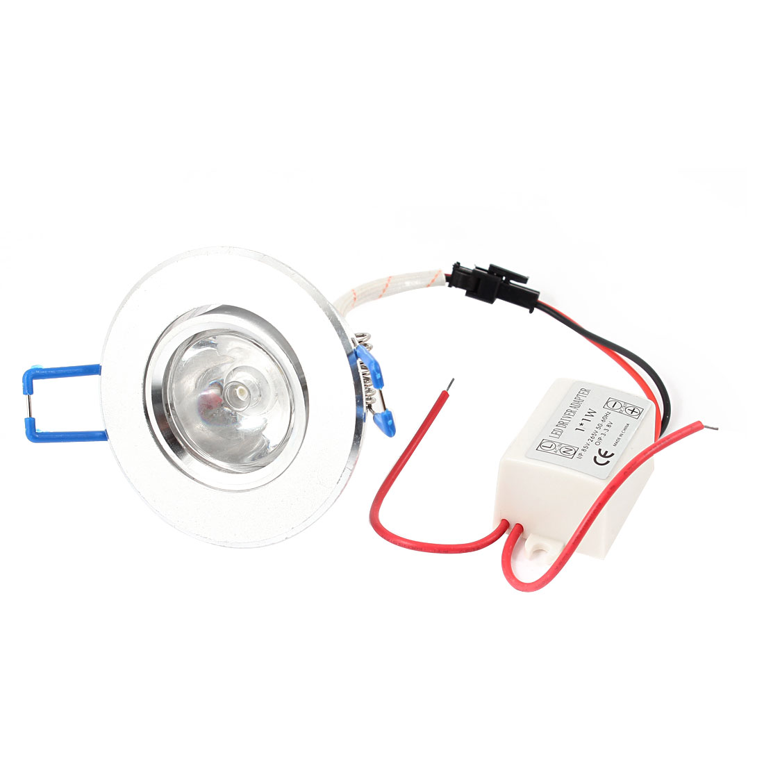 AC85V-265V 1W Warm White Ceiling Downlight Recessed Spot Lamp Bulb + LED Driver