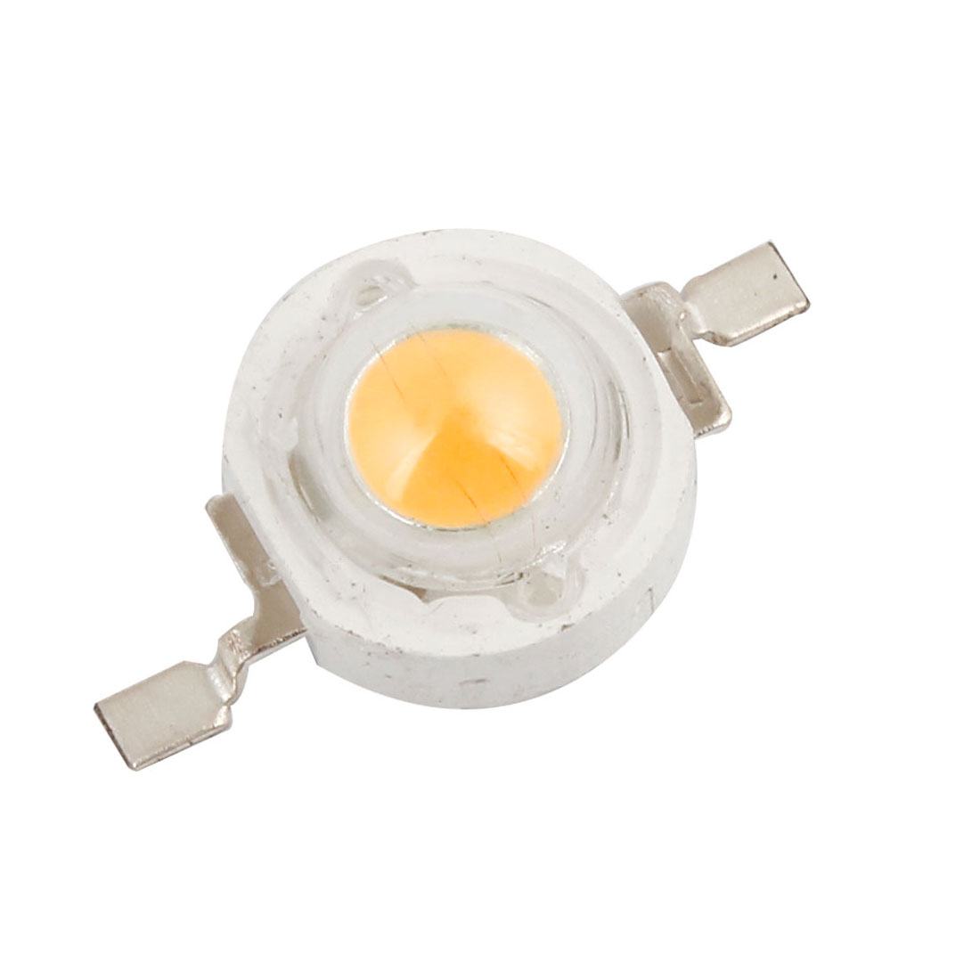 3.2-3.4V 300-350mA 1W Warm White High Power LED Bead Diodes Chip Lamp Bulb