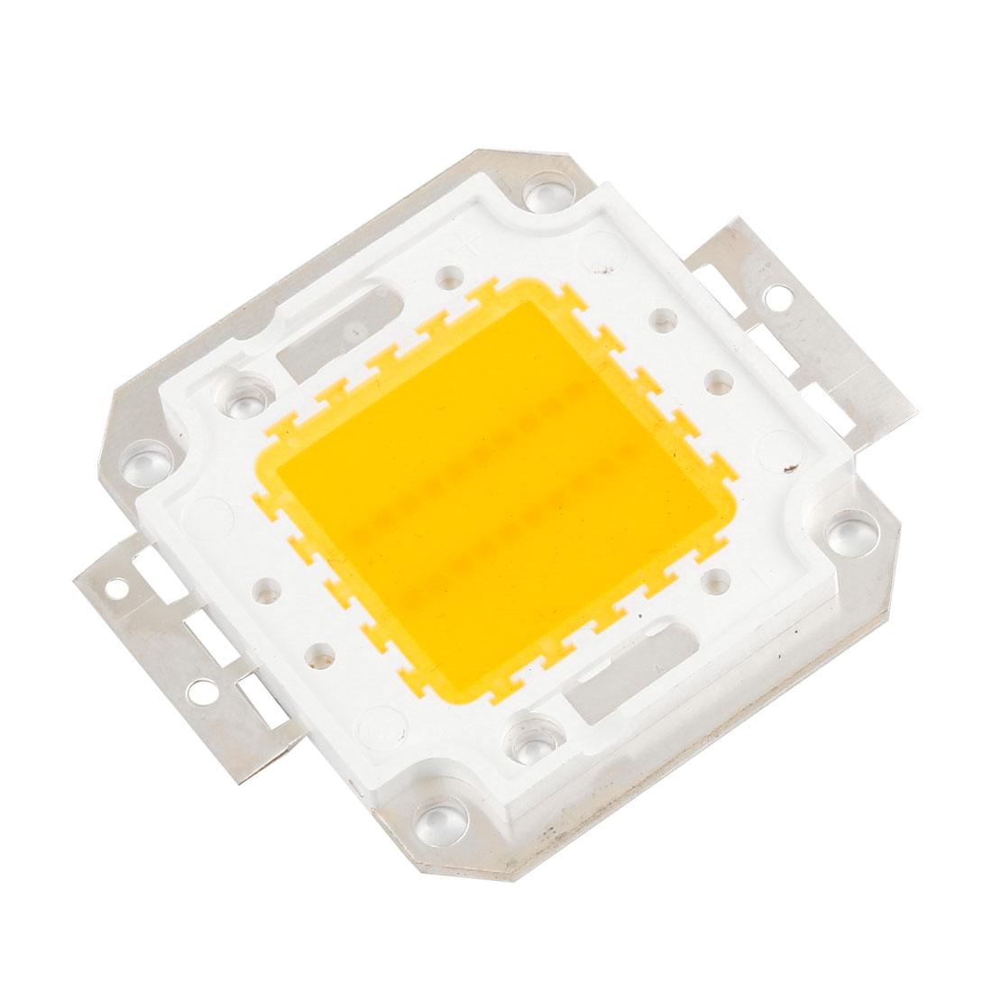 32-34V 20W Warm White Light Square High Power SMD LED Chip Lamp Bulb