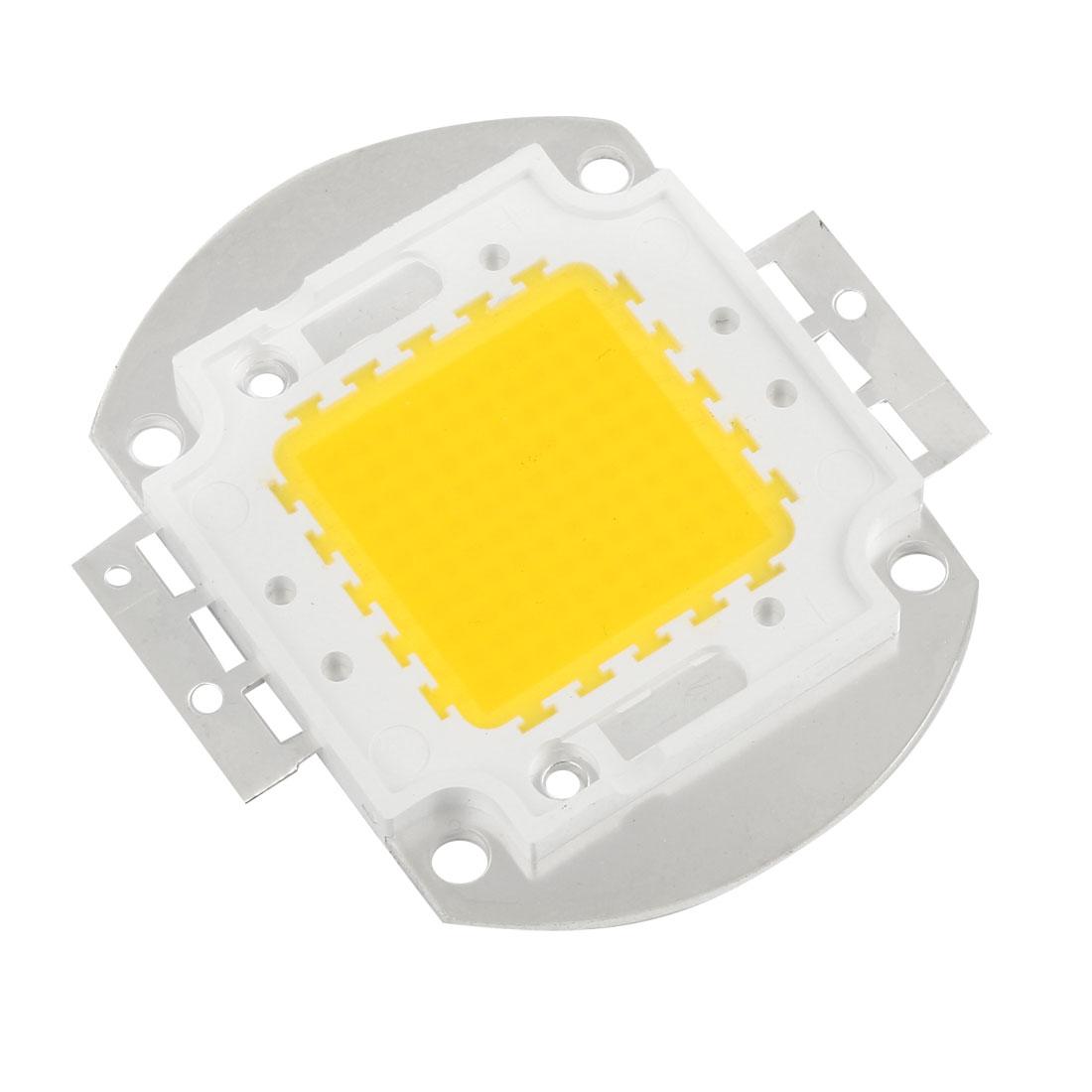 32-34V 3000mA 100W Warm White Light High Power SMD LED Chip Lamp Bulb