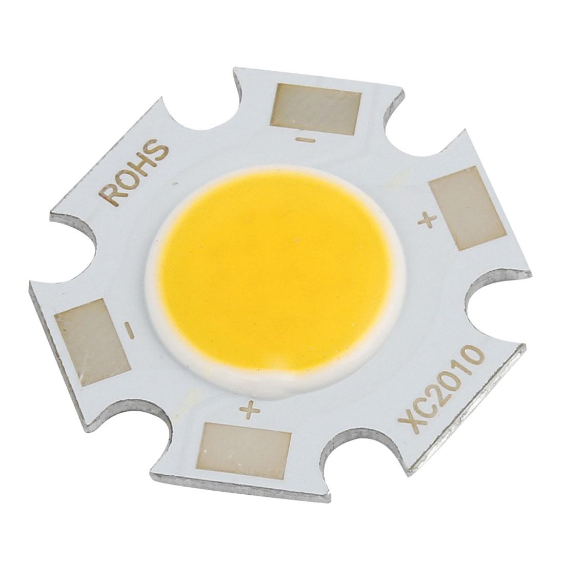 15-17V 300mA 5W Warm White Light High Power SMD COB LED Lamp Chip Bulb