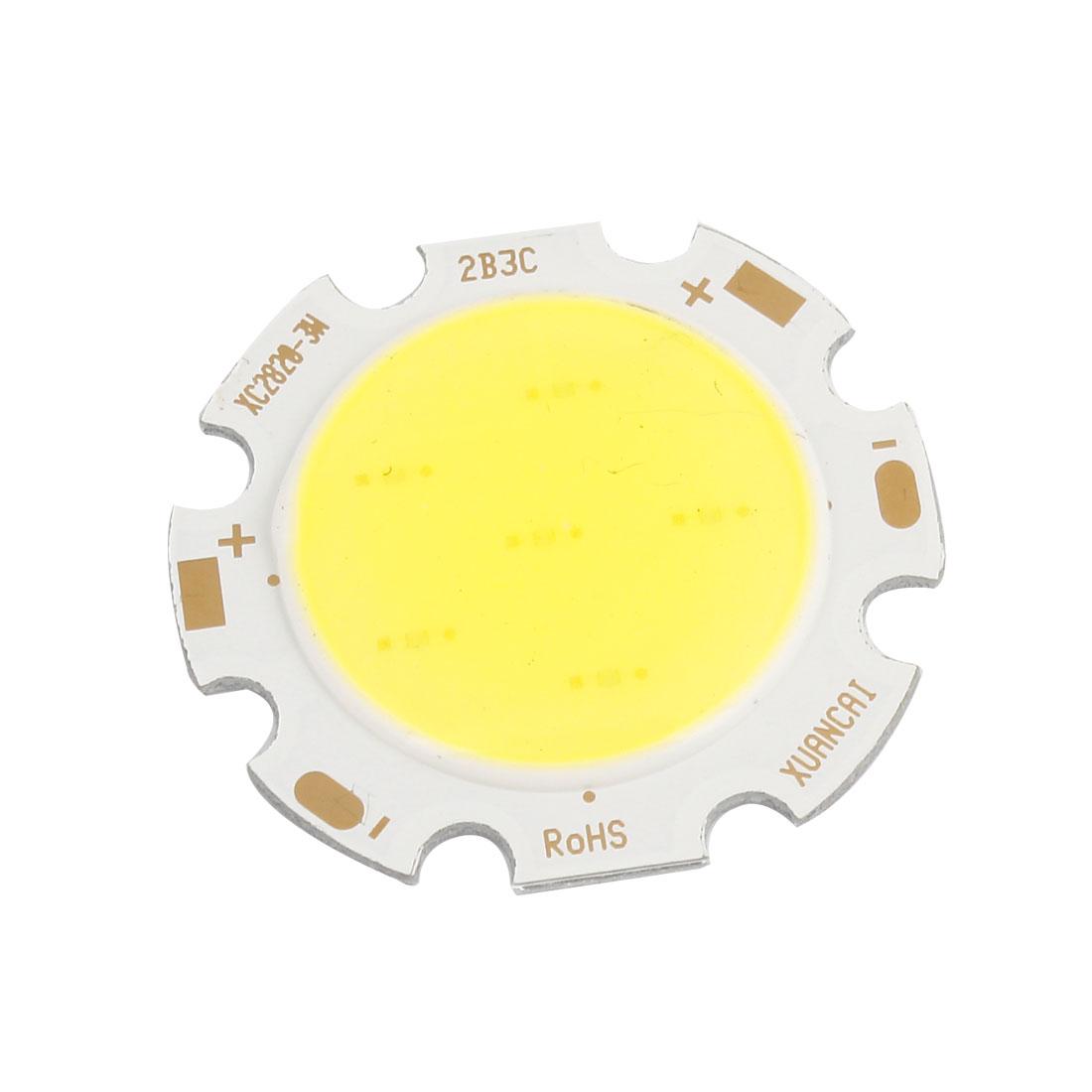 9-10V 3W Pure White Light High Power SMD COB LED Lamp Chip Bulb Emitter